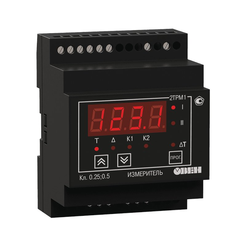 Измеритель-регулятор двухканальный 2ТРМ1-Д.У.РИ