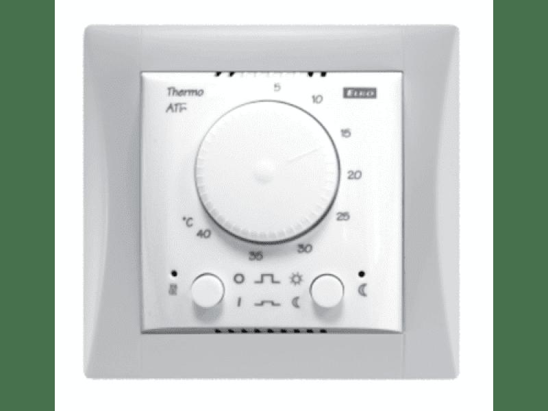 Купить Комплект - термостат ATR, белая рамка Элегант
