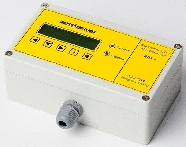 ВПК-2 Пульт контроля – индикация на ЖК-дисплее