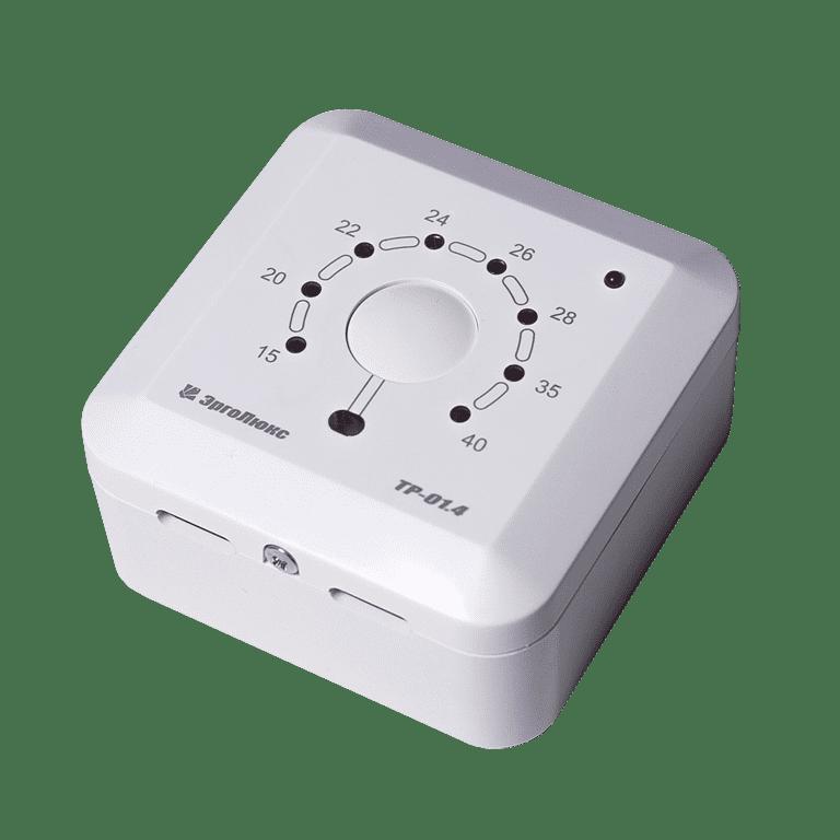 Купить Накладной терморегулятор ТР-01.4П с датчиком пола