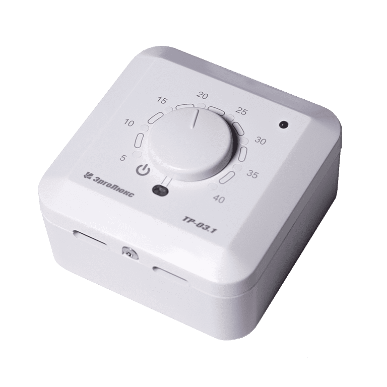 Купить Накладной терморегулятор ТР-03.1П с датчиком пола