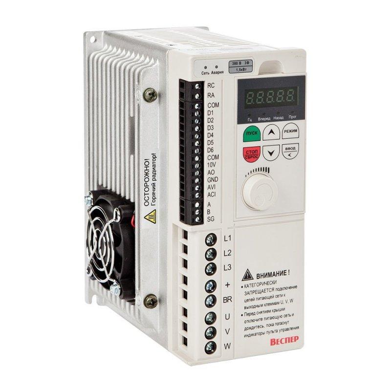 Векторный преобразователь частоты E4-8400-002H 1,5 кВт 380В