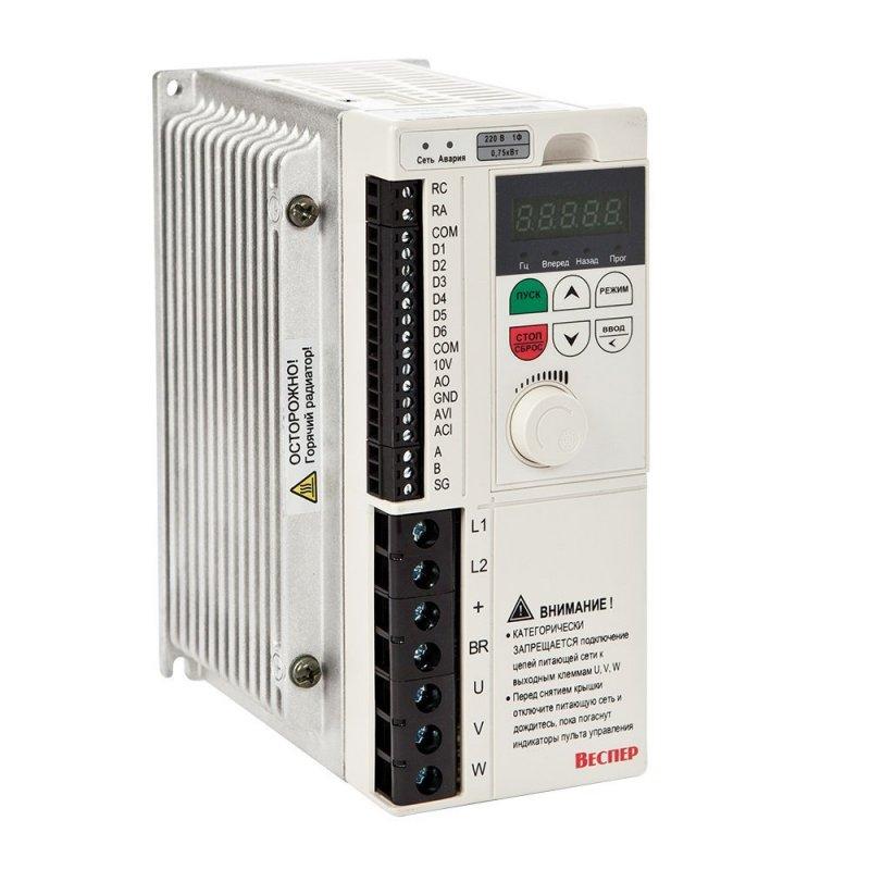 Векторный преобразователь частоты E4-8400-001H 0,75 кВт 380В