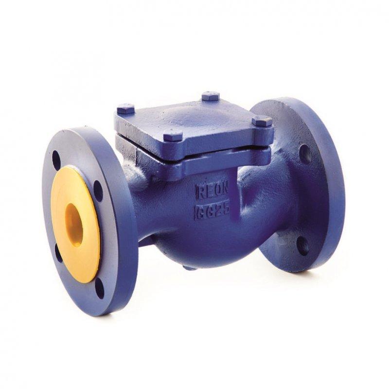 Обратный клапан чугунный подъемный Reon RSV33