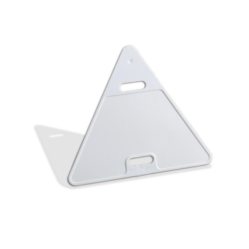 Бирка треугольная Технотрейд 62х55 AISI 430
