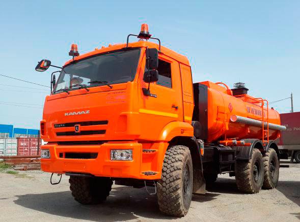 Купить Автотопливозаправщик АТЗ-11 Камаз-43118