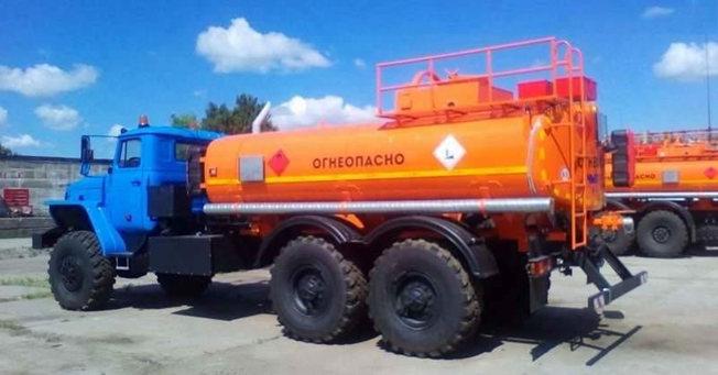Купить Топливозаправщик УРАЛ-4320, АТЗ, автотопливозаправщик