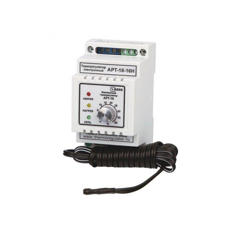 Терморегулятор АРТ-18-16Н с датчиком KTY-81-110 3 кВт DIN