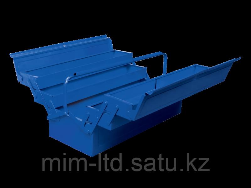 Металлический инструментальный ящик