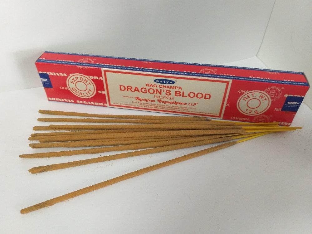 Натуральные благовония Dragon Blood. Satya, 15 гр