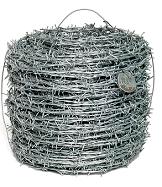 Купить Проволока колючая Россия чёрная 45 кг