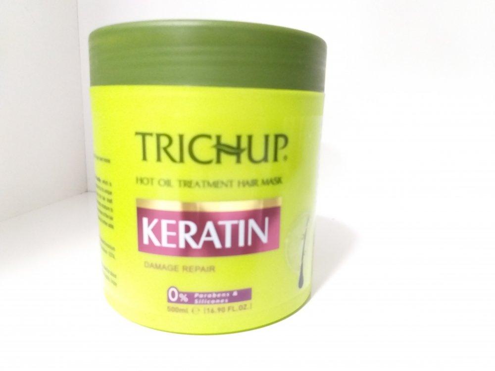 Маска для волос, KERATIN, Тричап, 500 мл