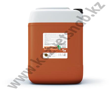 Купить Elovit Mint (Эловит Минт) средство для обработки вымени после доения на основе хлоргексидина с натуральным репеллентом (20 л)
