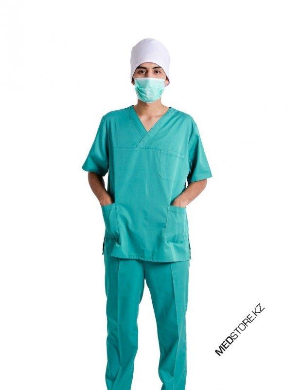 Купить Костюм хирурга зеленый