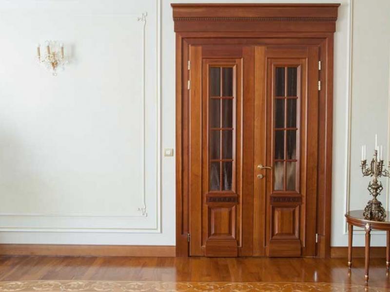 Купить Двери из массива древесины