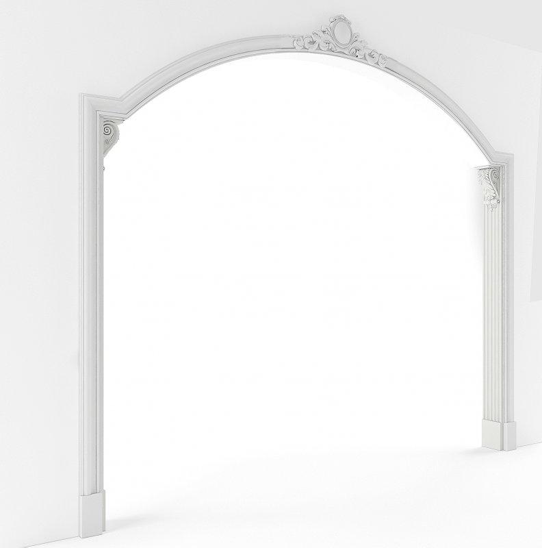 Гипсовые арки