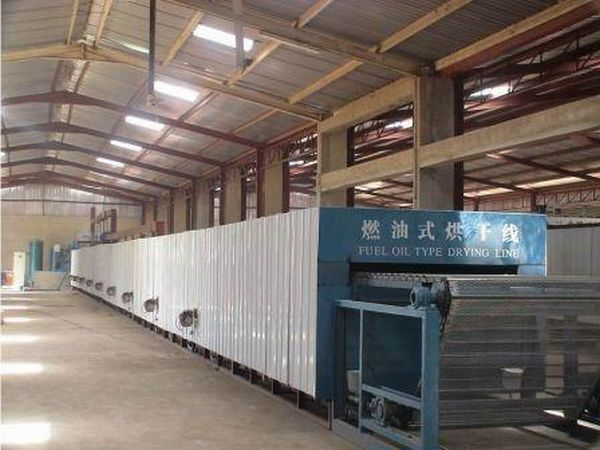 The line for production of egg trays, power is 6000 trays an hour, the equipment for production of egg trays