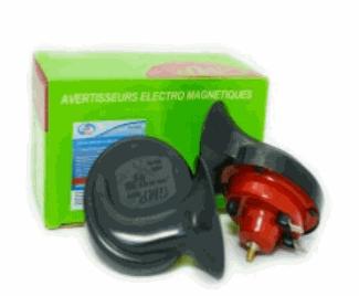 Купить Установки сигнальные звуковые, Сигнал звуковой электр. GMP 2-х рожковый 410/510Hz 12V AUTOVIRAZH, AV-016001