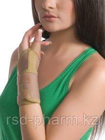Бандаж на лучезапястный сустав с фиксацией пальца MedTextile