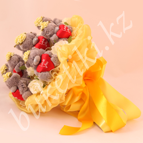 "Buy Bouquet from Teddie's toys ""Charm"