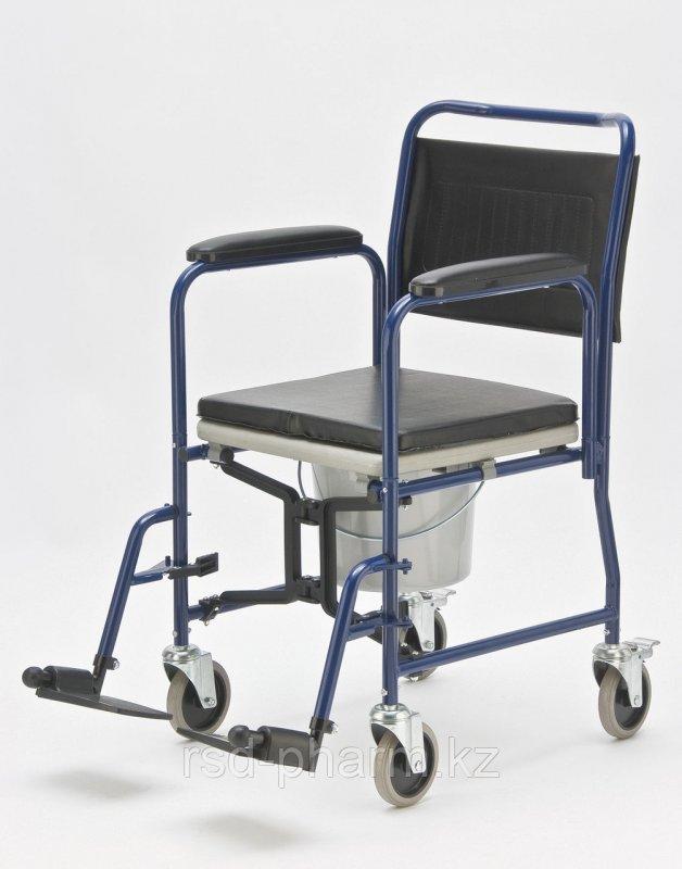 Кресло-каталка с санитарным оснащением Armed H009B