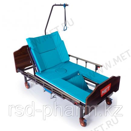 MET KARDO Кровать медицинская функциональная с туалетным устройством