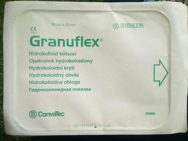 Гидроколлоидное раневое покрытие Грануфлекс (Granuflex) 15х20 см
