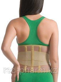 Корсет ортопедический с ребрами жесткости согревающий MedTextile