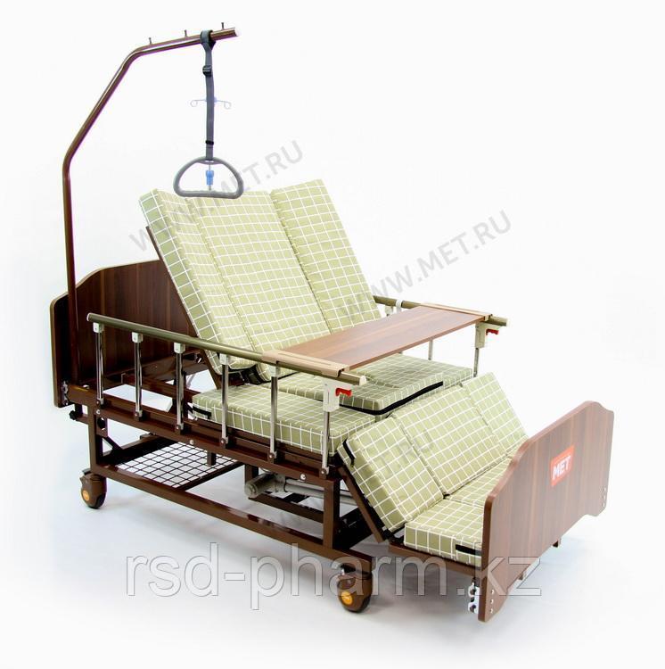 """Купить MET EVA Кровать функциональная медицинская электрическая с полным переворотом, с туалетом, с """"ушками"""""""