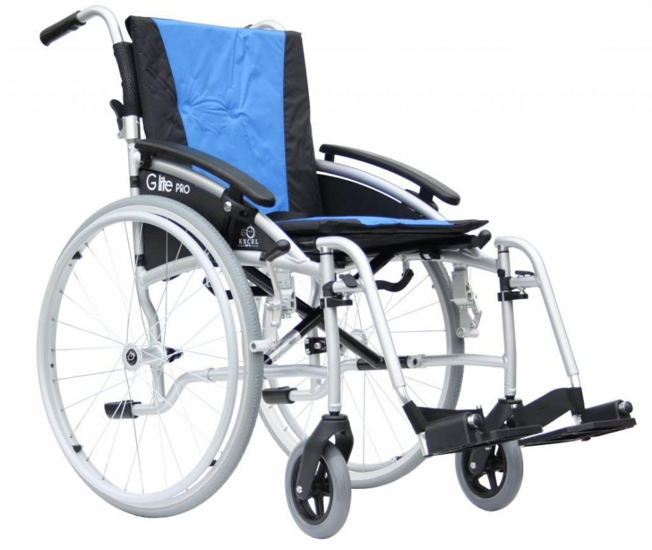 """Кресло-коляска облегченная Excel G-Lite Pro 24"""" (складная спинка: 40 см, 45 см, 50 см)"""