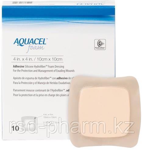 Аквасель Фоум с силиконовым адгезивом (Aquacel Foam, adh)