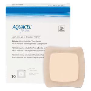 Аквасель Фоум с силиконовым адгезивом (Aquacel Foam, adh) 12,5х 12,5 см