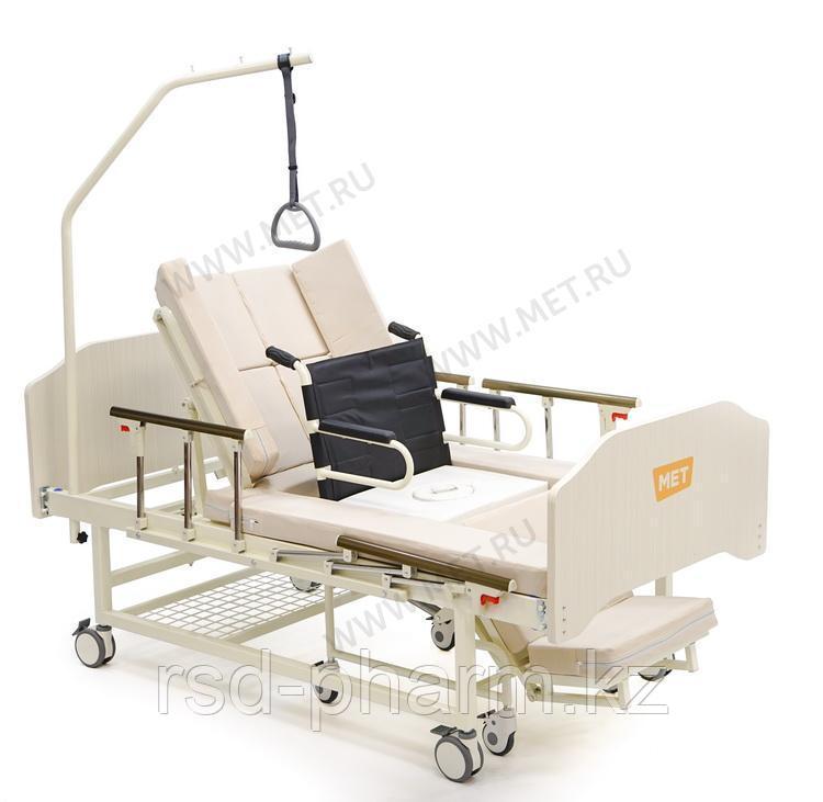 MET INTEGRA Медицинская кровать для дома с функцией переворота и интегрированным креслом-каталкой