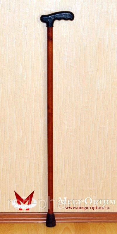Деревянная трость с пластиковой ручкой (75, 80, 85, 90, 95 см) 90
