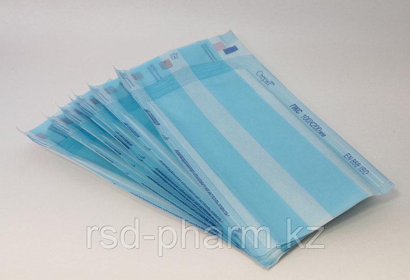 Термосвариваемые пакеты для стерилизации, комбинированные «СтериТ®» со складками, 100 шт в комплекте