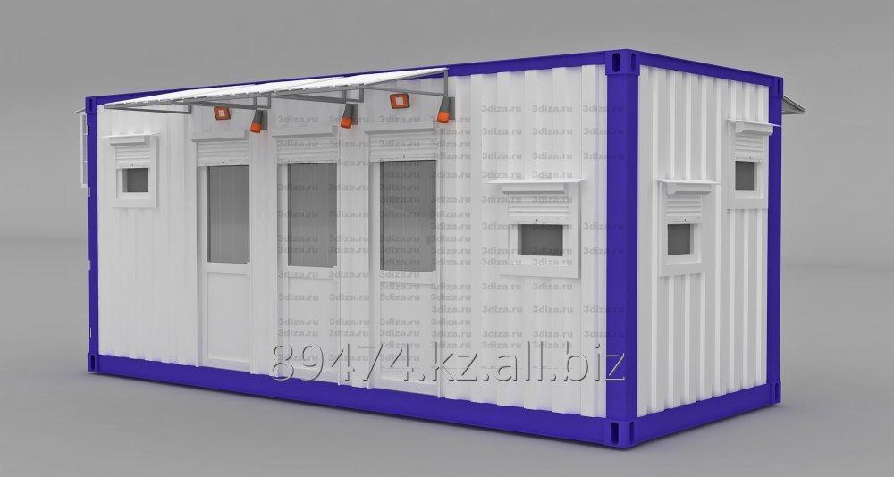 Купить Блок-модуль (лаборатория). Изготовление. Казахстан, г. Рудный.