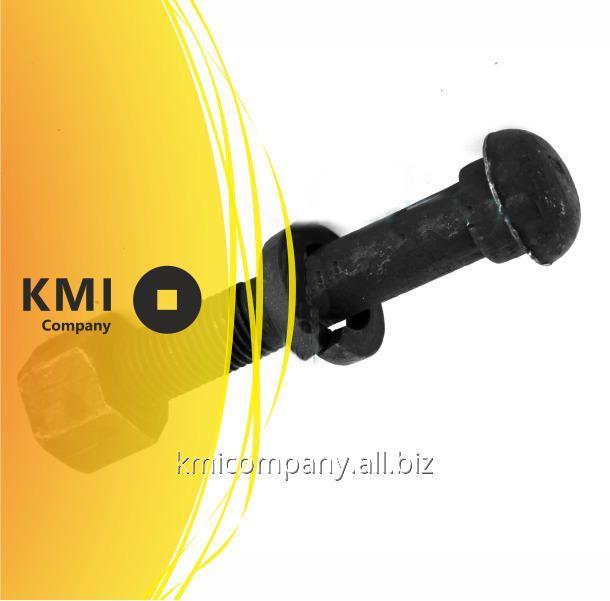 Купить Болт для рельсовых стыков с гайкой и шайбой М24х150 мм ГОСТ 11530-2014