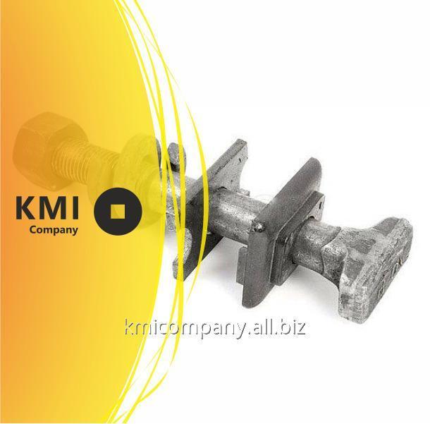 Купить Болт закладной с гайкой и шайбой М22х175 мм ГОСТ 16017-2014