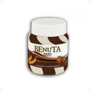 Паста шоколадная BENUTA KREM DUO CIKOLATA 700 GR
