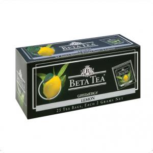 Чай Beta Green Tea Lemon, Пакетированный