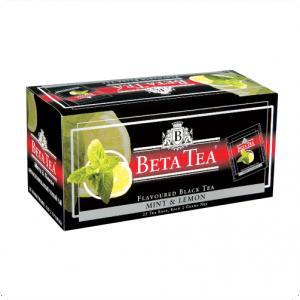 Чай Beta Tea, Mint&#038-Lemon, Пакетированный