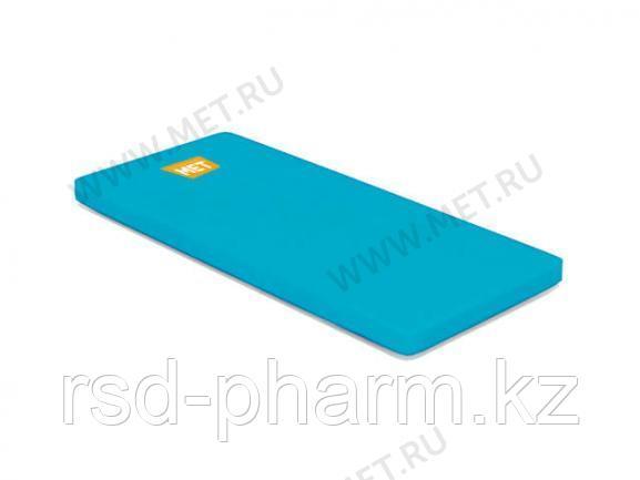 MET STANDART Матрас для Largo односекционный в чехле из ткани Комфорт голубой, ППУ-20