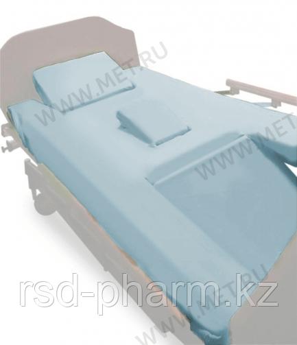 Комплект простыней натяжных (2 шт в упаковке) для кровати MET KARDO