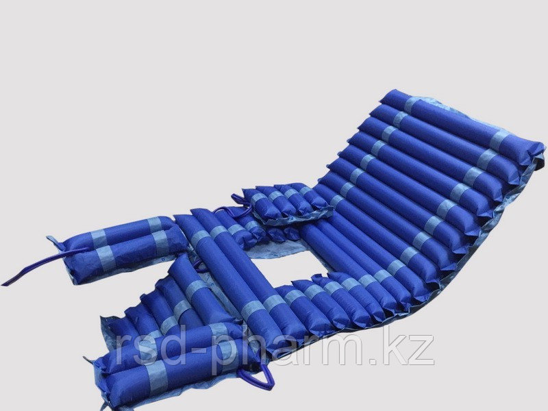 MET AIR wc II Бесшумный противопролежневый трубчатый матрас с отверстием и доп.секцией