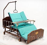 Комплект медицинской кровати МЕТ REMEKS XL для ухода за лежачими больными с переворотом и туалетом