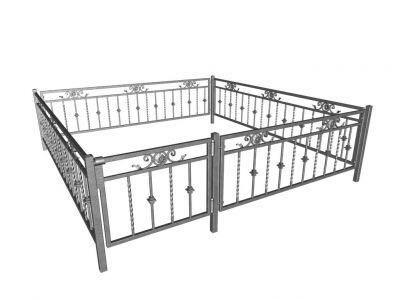 Купить Забор металлический