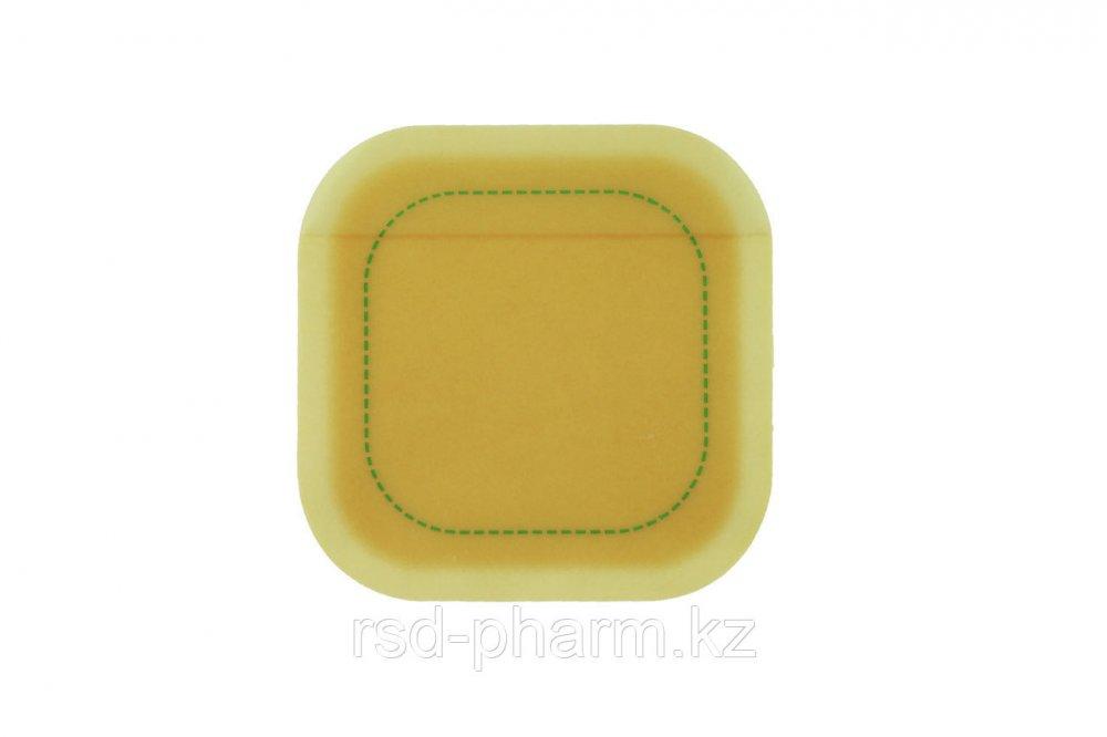 Гидроколлоидное раневое покрытие Грануфлекс Сигнал (Granuflex Signal) 10х10 см 14*14