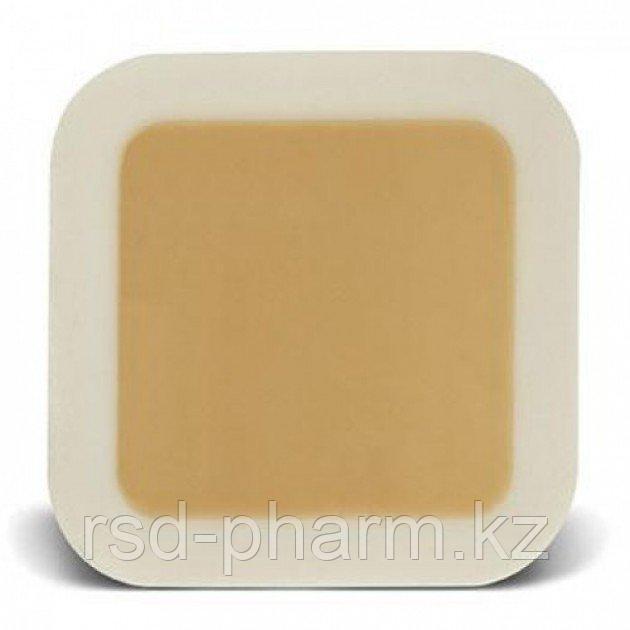 Гидроколлоидное раневое покрытие Грануфлекс с окантовкой (Granuflex Bordered) 6х6 см 15*15