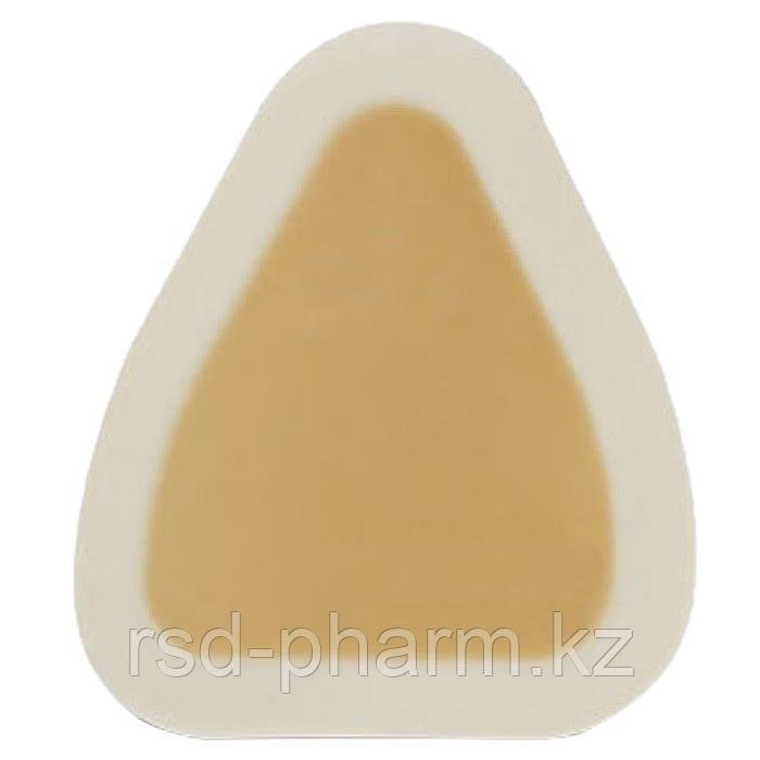 Гидроколлоидное раневое покрытие Грануфлекс с окантовкой (Granuflex Bordered) 10х13 см (для крестца) 15*18
