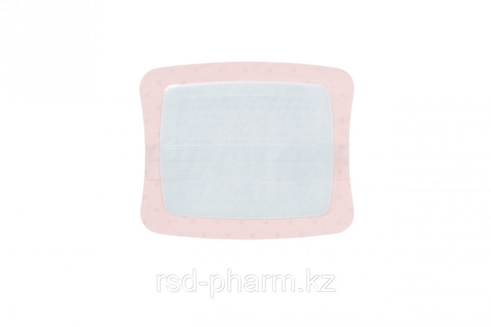 Аквасель Фоум с серебром с силиконовым адгезивом (Aquacel Foam Ag, adh) 25*30